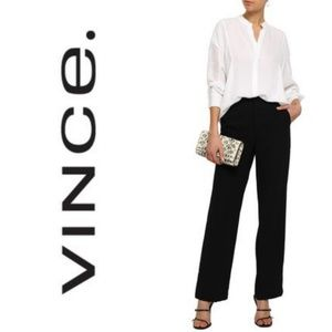 Vince dark blue dress pants straight leg  size L